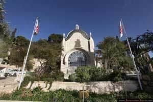 Dominus Flevit - Biserica din Ierusalim