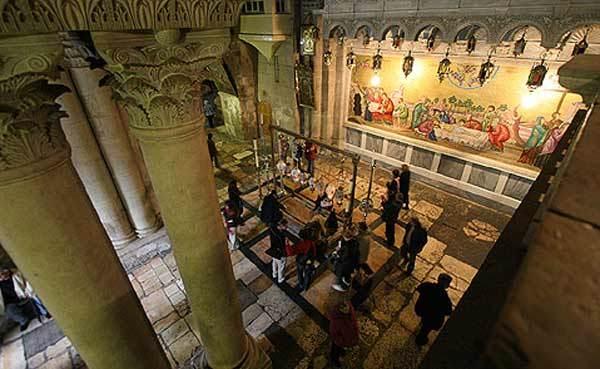 Biserica Sfantului Mormant - Piatra Ungerii