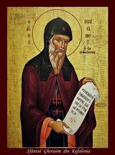 Acatistul Sfantului Gherasim Kefalonitul, Izgonitorul demonilor
