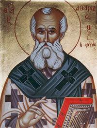 Aducerea moastelor Sfantului Atanasie cel Mare; Sfantul Atanasie al III-lea, Patriarhul Constantinopolului; (Denia celor 12 Evanghelii)