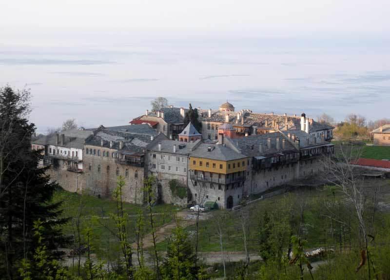 Manastirea Filoteu - Sfantul Munte Athos