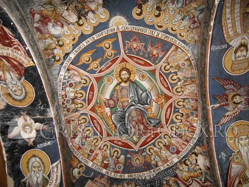 Manastirea Filoteu - Fresca