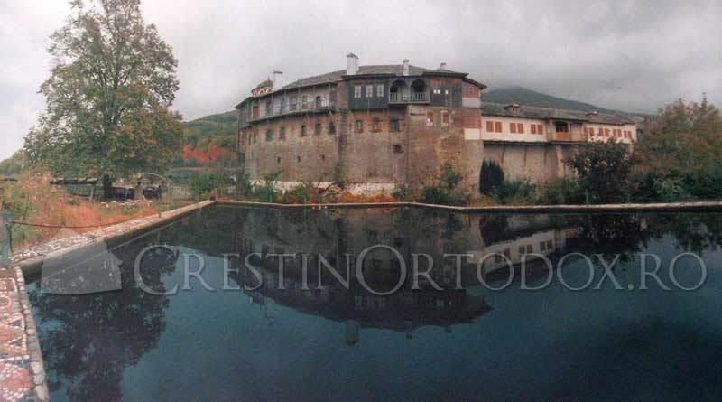 Manastirea Filoteu - Lacul