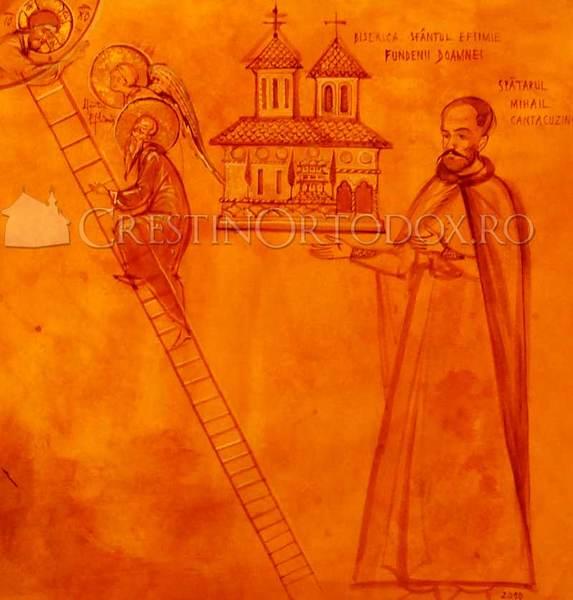 Biserica Fundenii Doamnei - Spatarul Mihail Cantacuzino