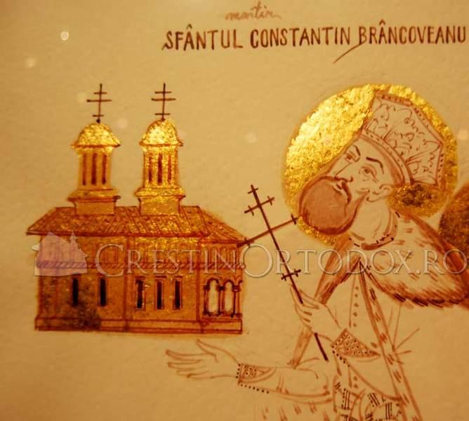 Sfantul Imparat Constantin Brancoveanu - Ctitorul