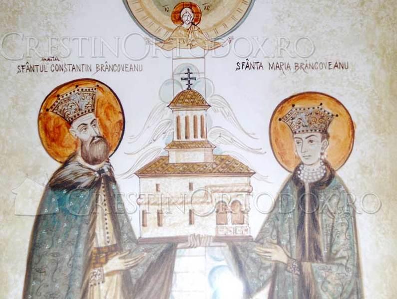 Sfantul Constantin Brancoveanu si Sfanta Maria Brancoveanu