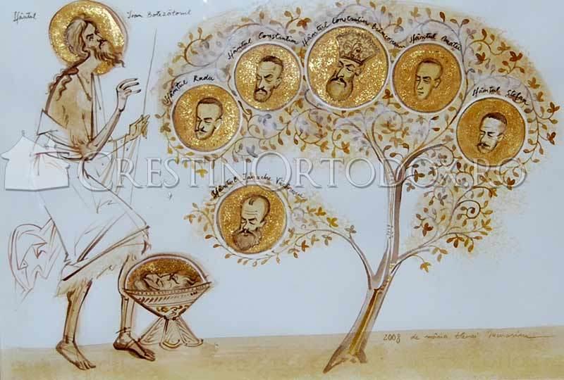 Sfantul Ioan Botezatorul si Sfintii Martiri Brancoveni