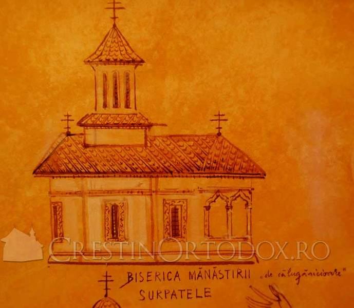 Manastirea Surpatele - Biserica de maici