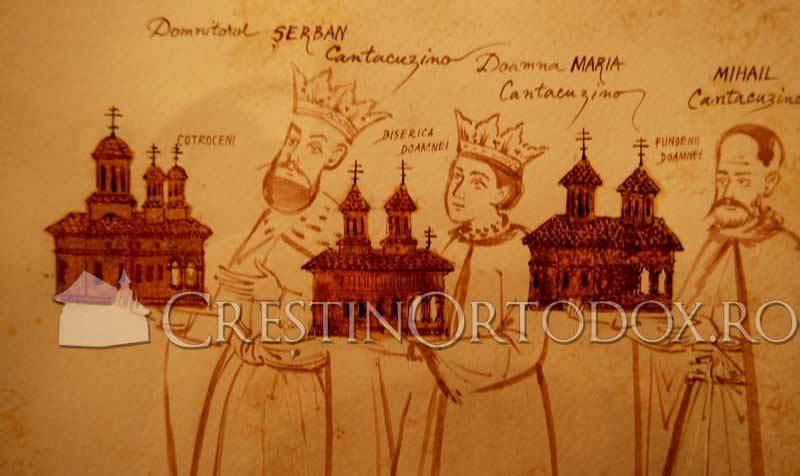 Serban, Maria si Mihail Cantacuzino
