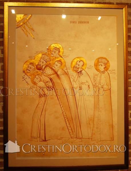 Sfintii Brancoveni si mama lor, Maria Brancoveanu
