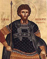 Aducerea moastelor Sfantului Teodor Stratilat