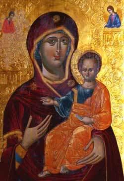 Icoana Maicii Domnului de la Manastirea Secu - Cipriota