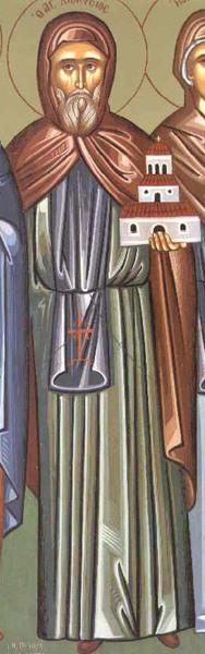 Sfantul Cuvios Dionisie