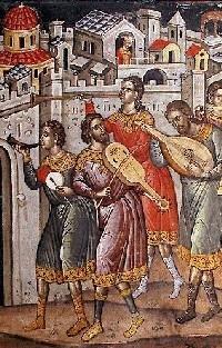 Muzica bizantina laica