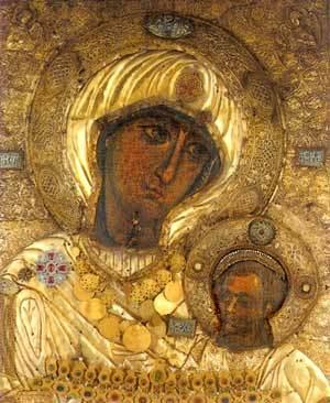 Icoana Maicii Domnului de la Manastirea Iviron - Portarita