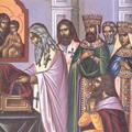 Punerea in racla a acoperamantului Maicii Domnului