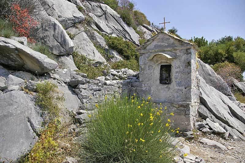 Troita pe Sfantul Munte Athos