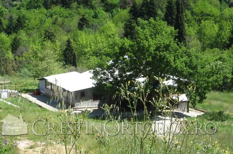 Chilia parintelui Gavriil - Manastirea Cutlumus