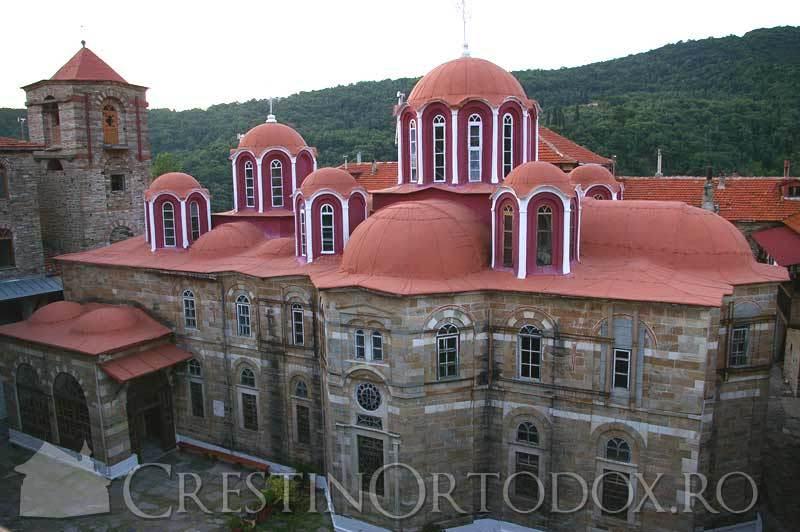 Manastirea Costamonitu - Sfantul Munte Athos