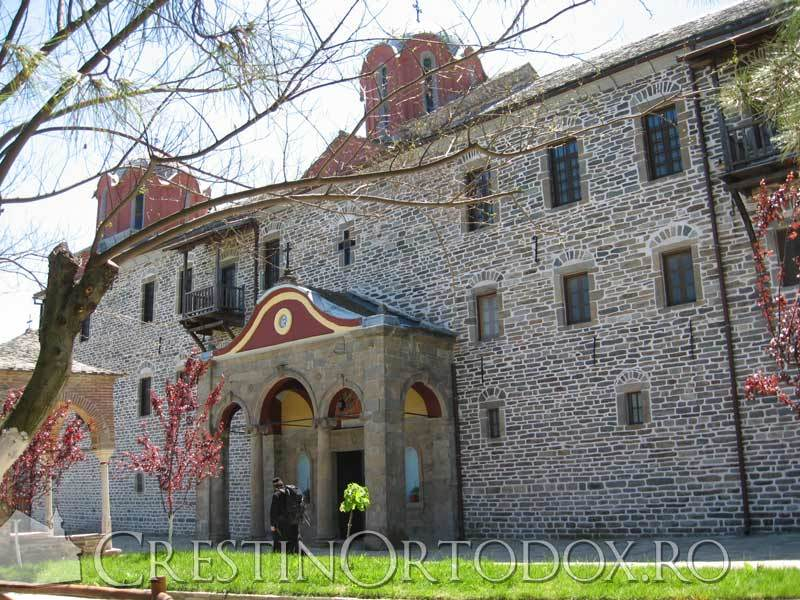 Manastirea Cutlumus - Poarta