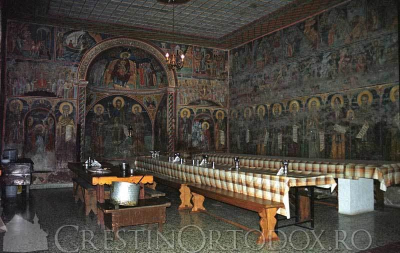Manastirea Dionisiu - Trapeza