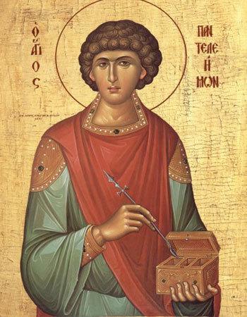 Sfantul Mucenic Pantelimon