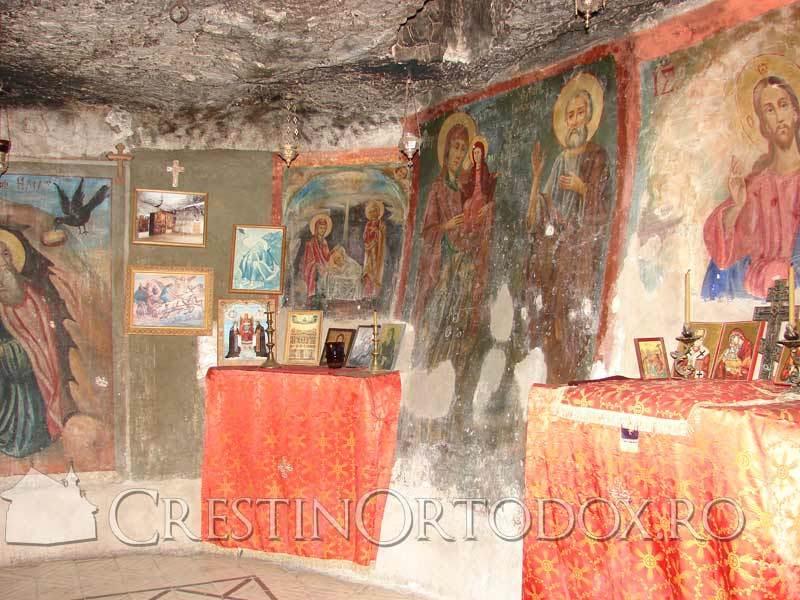 Pestera Sfantului Ilie - Pustiul Hozeva