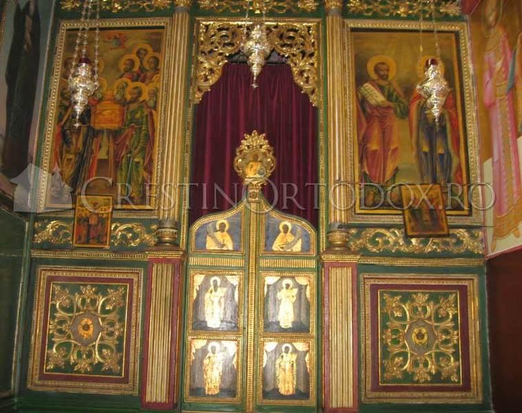 Biserica de pe Muntele Tabor - Catapeteasma
