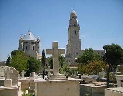 Biserica Adormirea Maicii Domnului - Muntele Sion