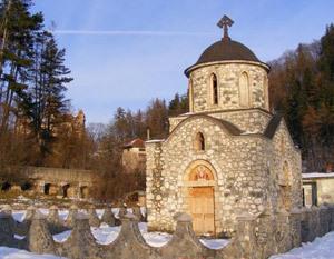 Capela din Bran - Inima Reginei Maria