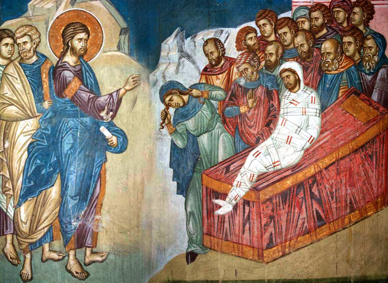 Invierea tanarului din Nain