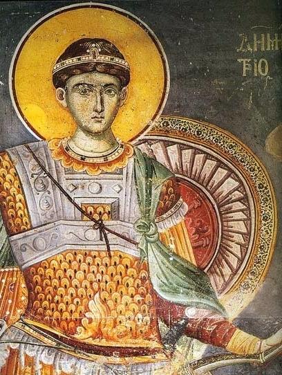 Mladite alese ale Sfantului Dimitrie