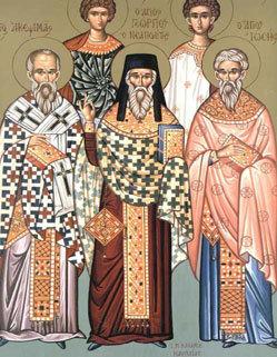 Sfintii Mucenici Achepsima, Iosif si Aitala; Pomenirea mortilor