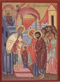 Intrarea in Biserica a Maicii Domnului