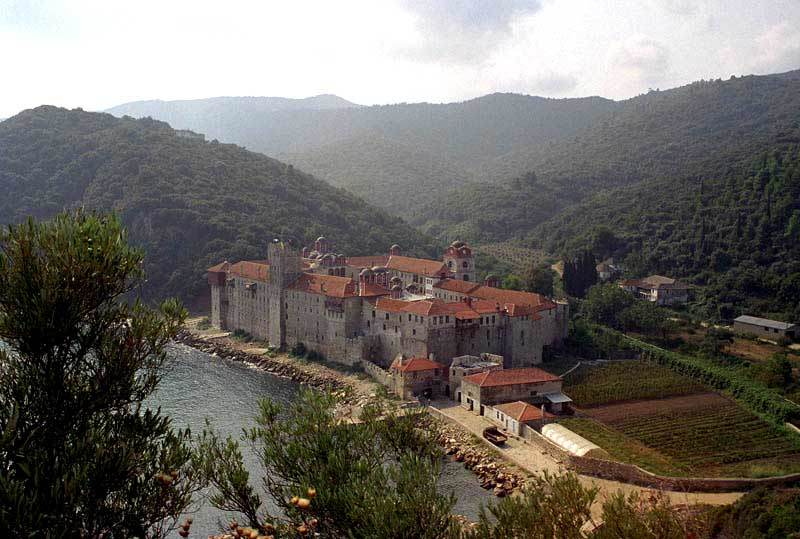 Manastirea Esfigmenu - Athos