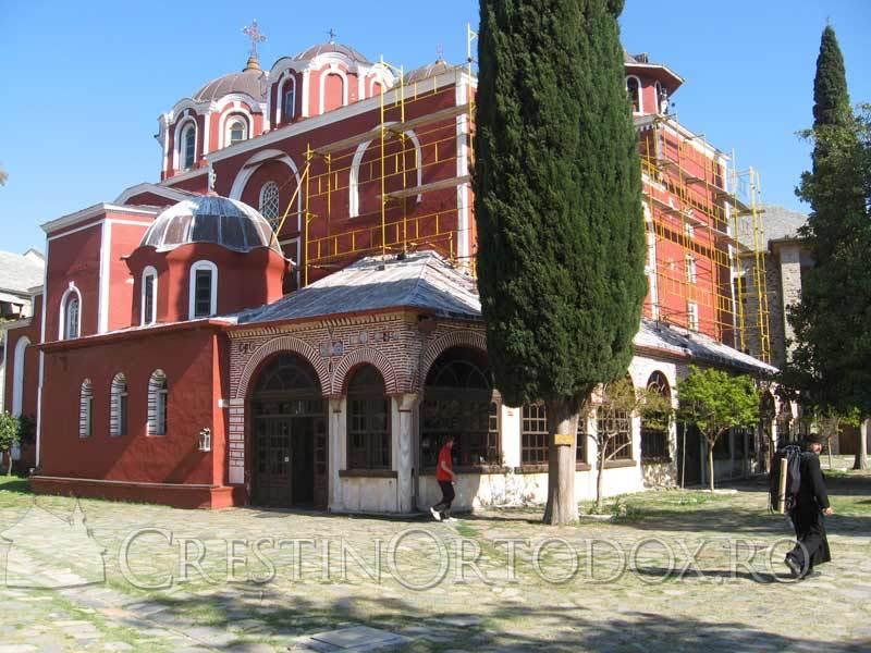 Manastirea Iviron - Biserica