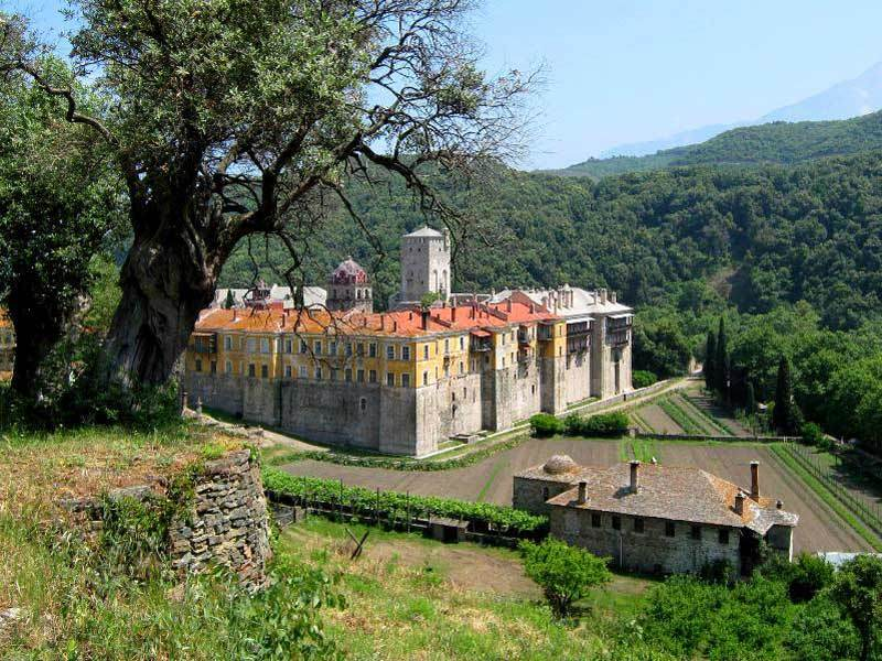 Manastirea Iviron - Athos