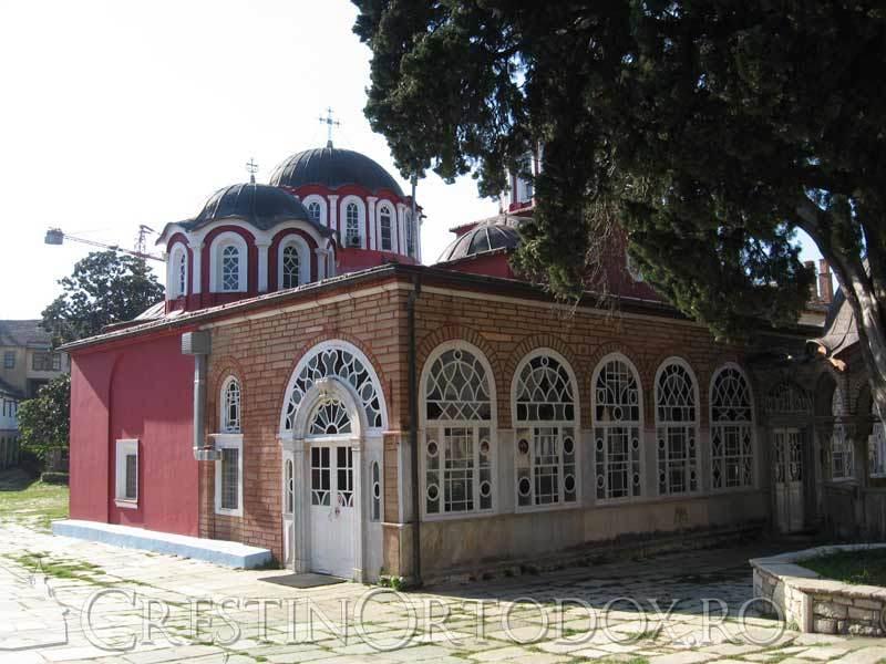 Manastirea Marea Lavra - Biserica