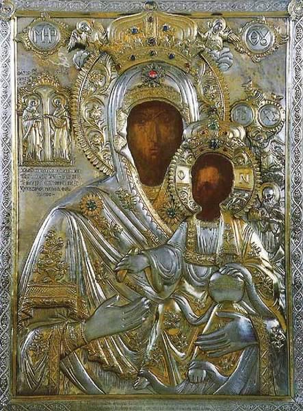 Marea Lavra din Athos - Icoana Maicii Domnului