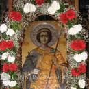 Schitul Lacu din Athos - Icoana Sfantului Dimitrie