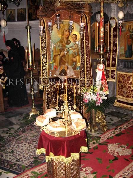 Schitul Lacu din Athos - Slujba cu Litia