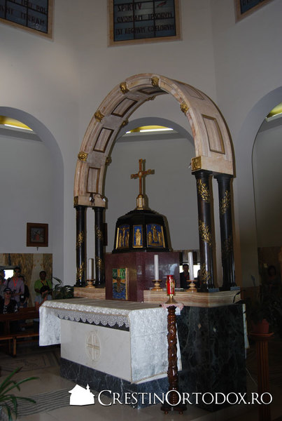 Biserica Fericirilor - Altar