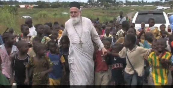 Parintele Themi, ateul devenit preot misionar in Africa