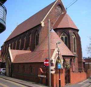 Catedrala Ortodoxa din Birmingham - Adormirea Maicii Domnului si Sfantul Andrei