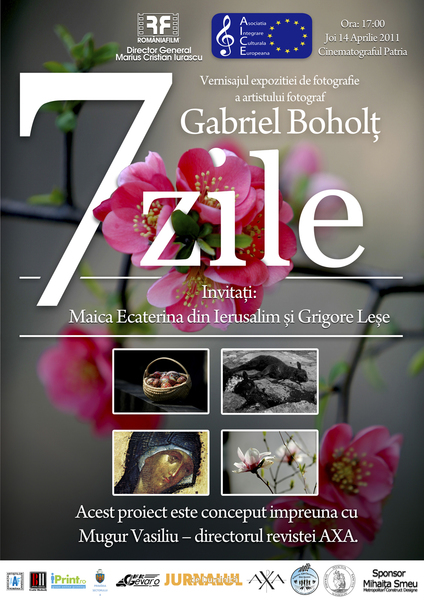 Invitatie la evenimentul 7 ZILE, de Gabriel Boholt