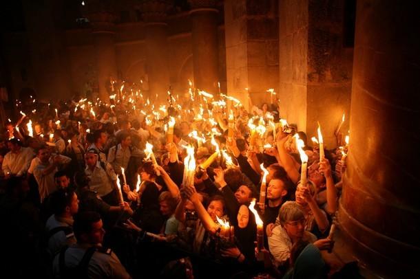 Martor ocular la venirea Sfintei Lumini
