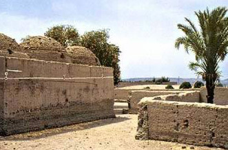Manastirile crestine de langa Naqada