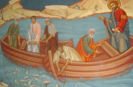 Duminica a XVIII-a dupa Rusalii - Pescuirea minunata