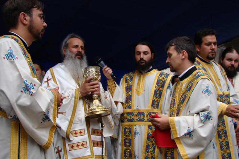Sfanta Liturghie Arhiereasca la Manastirea Techirghiol.Sfanta Liturghie Arhiereasca la Manastirea Techirghiol