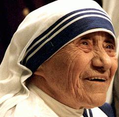 Maica Tereza primeste Premiul Nobel